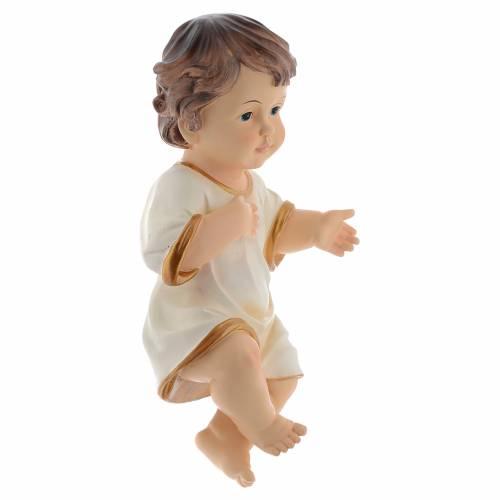 Enfant Jésus en résine 34 cm s3
