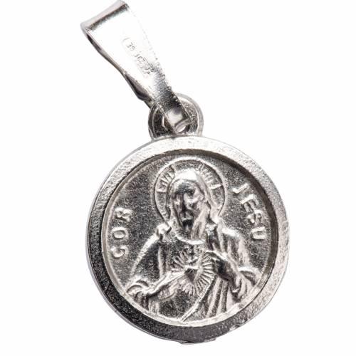 Escapulario de plata 800 diam 1 cm s1