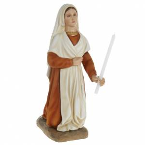Imágenes en fibra de vidrio: Estatua de Santa Bernardita 63 cm