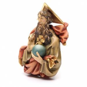 STOCK Eterno Padre in legno dipinto cm 15 s2