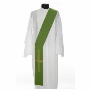 Etole diaconale croix polyester s2