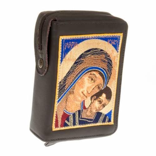 Etui liturgie volume unique vierge avec enfant au premier plan s1