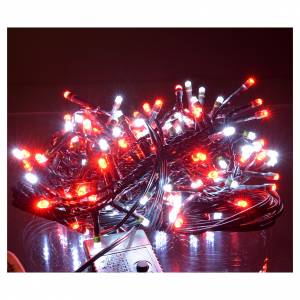 Fairy lights 180 LED, red and white, for outdoor/indoor use, programmable s2