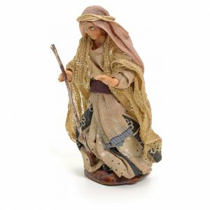 Femme arabe au bâton crèche Napolitaine 8 cm s2