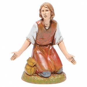 Belén Moranduzzo: Figura hombre maravillado 10 cm belén Moranduzzo estilo clásico