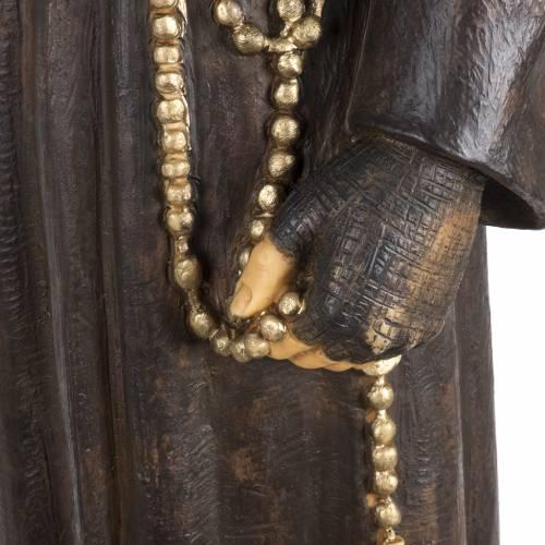Figura Padre Pio 100 cm. resina Fontanini s3