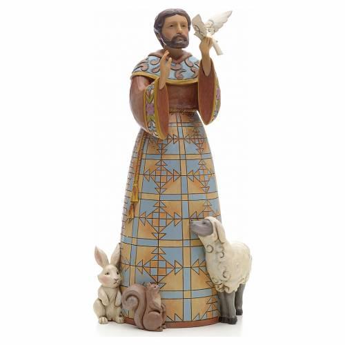 Figurine de St François de Jim Shore s1