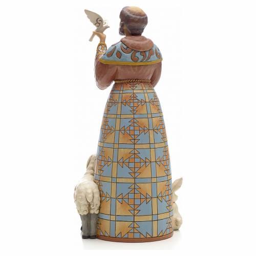 Figurine de St François de Jim Shore s3