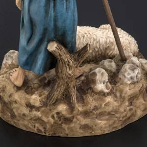 Figurines for Landi nativities, guard with sheep 18cm s6