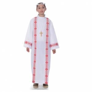 First Communion alb, 2 hems s1