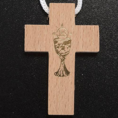 First Communion set with Cross, Rosary and Rosary box s2