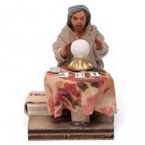 Neapolitan Nativity Scene: Fortune teller, Neapolitan nativity figurine 10cm