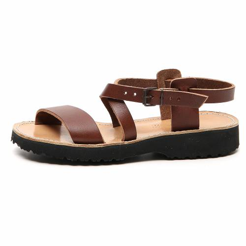 Franciscan Sandals in leather, model Nazareth s1