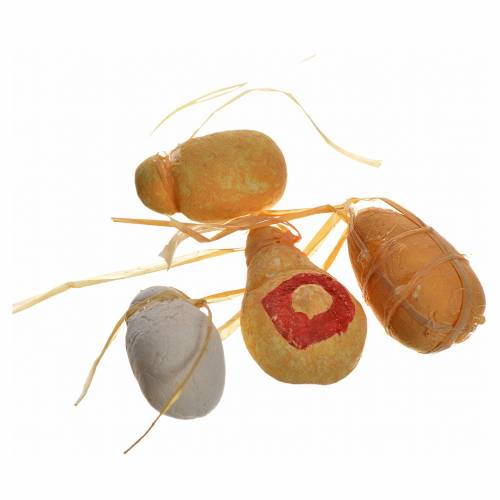 Fromages en miniature crèche Napolitaine 2,5 cm s1