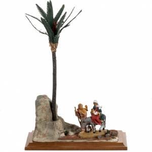 Statues en résine et PVC: Fuite en Egypte 12 cm Fontanini