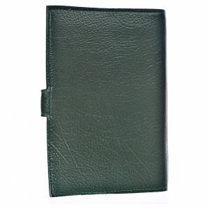 Funda Biblia CEE grande S. Familia simil cuero verde s2