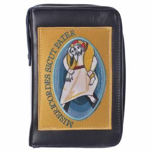 STOCK Funda para Liturgia de las Horas 4 volumenes negra, Jubileo de la Misericordia s1