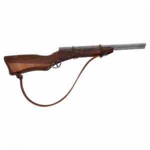Fusil en miniature crèche Napolitaine de 7 cm s1