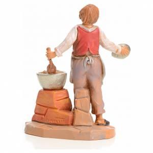 Garçon à la soupe crèche 9,5 cm Fontanini s2
