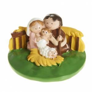 Heilige Familie: Geburt aus Harz auf Basis 4,5x7