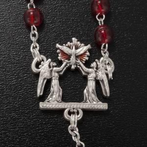 Ghirelli rosary, Bohemia glass, Confirmation 6mm s4