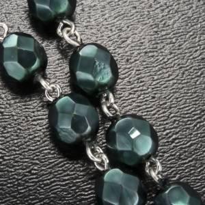 Ghirelli rosary, Lourdes, metallic 7mm s5