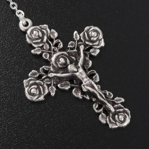 Ghirelli rosary St. Teresa Lisieux 6x8 mm s5