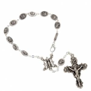 Ghirelli collection rosary beads: Ghirelli single-decade rosary, Our Lady of Guadalupe 6x8mm