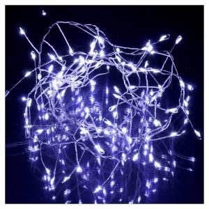 Ghirlanda  luminosa 100 micro LED bianco freddo INTERNO corrente s2