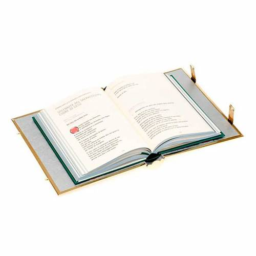 Golden brass lectionary/evangeliary slipcase s5