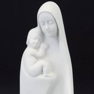 Statuen aus Porzellan und Ton: Gottesmutter mit Christkind Porzellan