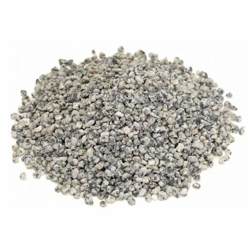 Gravier fin gris pour bricolage crèche s1