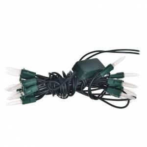 Guirlande 20 lucioles leds blanc chaud pour éclairage interne s1