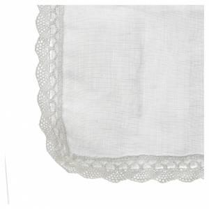 Altargarnitur: Handtuch aus Lein-Mischung