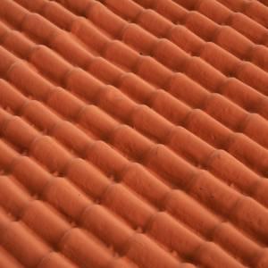 Hauszubehör für Krippe: Hausdach für Krippenbasteln