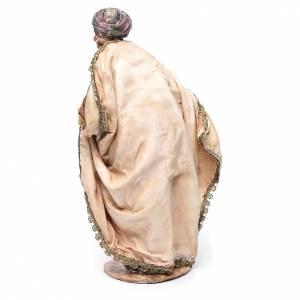 Krippenfiguren von Angela Tripi: Heiliger König Tripi Angela Mulatte 30 cm gebrannter Ton