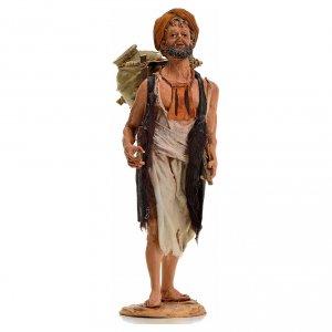 Krippenfiguren von Angela Tripi: Hirte mit Amphore 18cm Terrakotta, A. Tripi