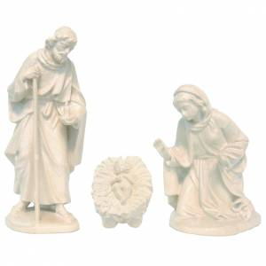 Holy Family, Orient model in Valgardena wood, natural wax s1