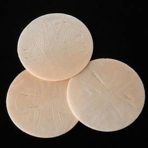 Hosties pour l'Eucharistie: Hostie-pain Magne pour célébration 7.5 cm diam.