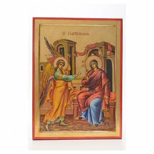 Icone Grecia dipinte e serigrafate: Icona Annunciazione Grecia