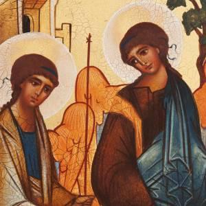 Icona russa Trinità di Rublev s2