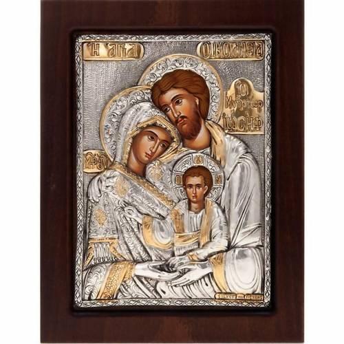 Icona Sacra Famiglia riza 1