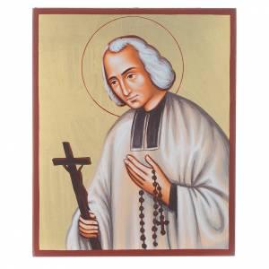 Icône du Saint Curé d'Ars s1