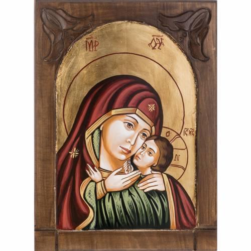 Icône mère de Dieu de Kasperov s1