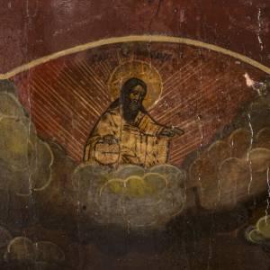 Icone Russe ancienne St Jean le Baptiste Précurseur s3