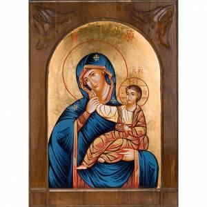 Icône vierge de Dieu joie et soulagement Roumanie s1