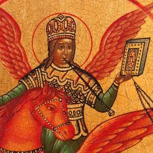 Icono de San Miguel Arcángel de la rusia s4