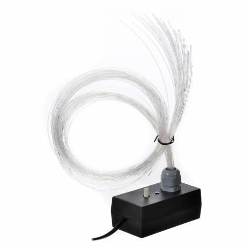 Illuminatore led dissolvenza tremolio 45 fili fibra ottica s5