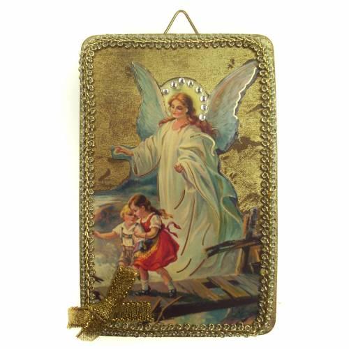 Image ange custode en bois s1