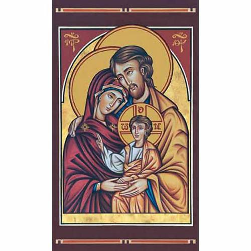 Image pieuse Sainte Famille byzantine s1